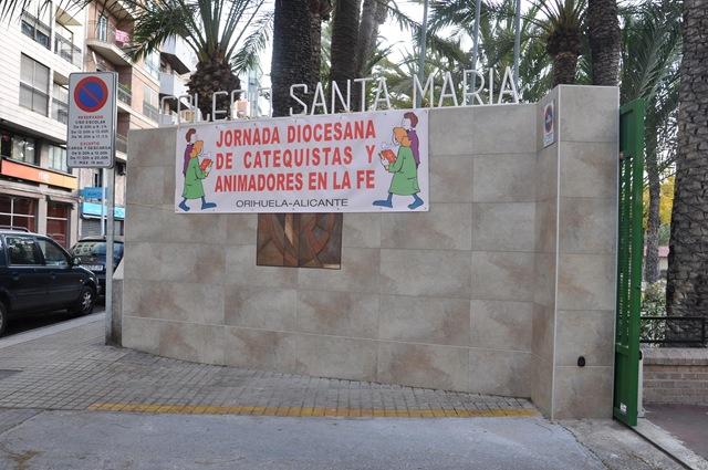 Jornada Diocesana de Catequistas en el colegio Santa María de Elche