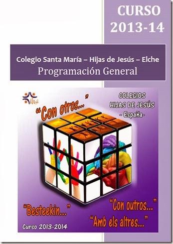 Programación General Curso 2013 – 14