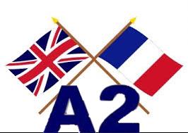 Pruebas homologadas (A2) inglés y francés