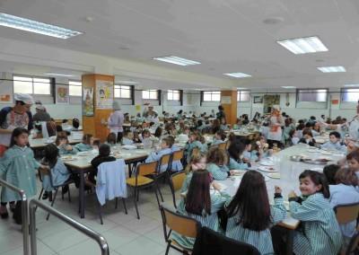 servicios - comedor - colegio santa maría