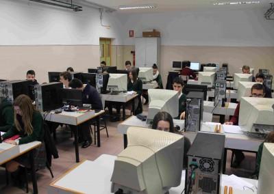 Aula Informática - Colegio Santa María