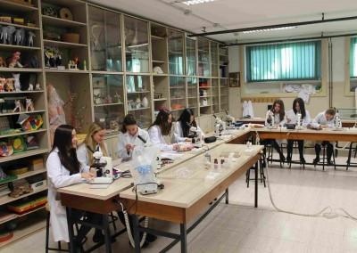 Laboratorio Biología - Colegio Santa María