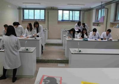 Laboratorio Química - Colegio Santa María