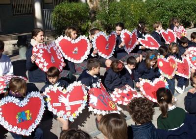 Día de la  paz - Colegio Santa María