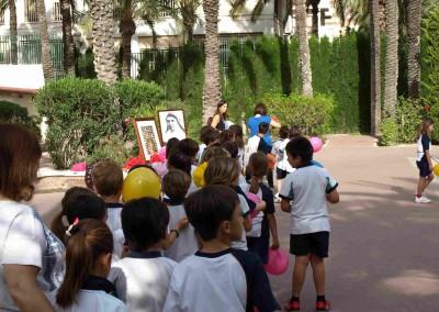 Ofrenda Flores - Colegio Santa María