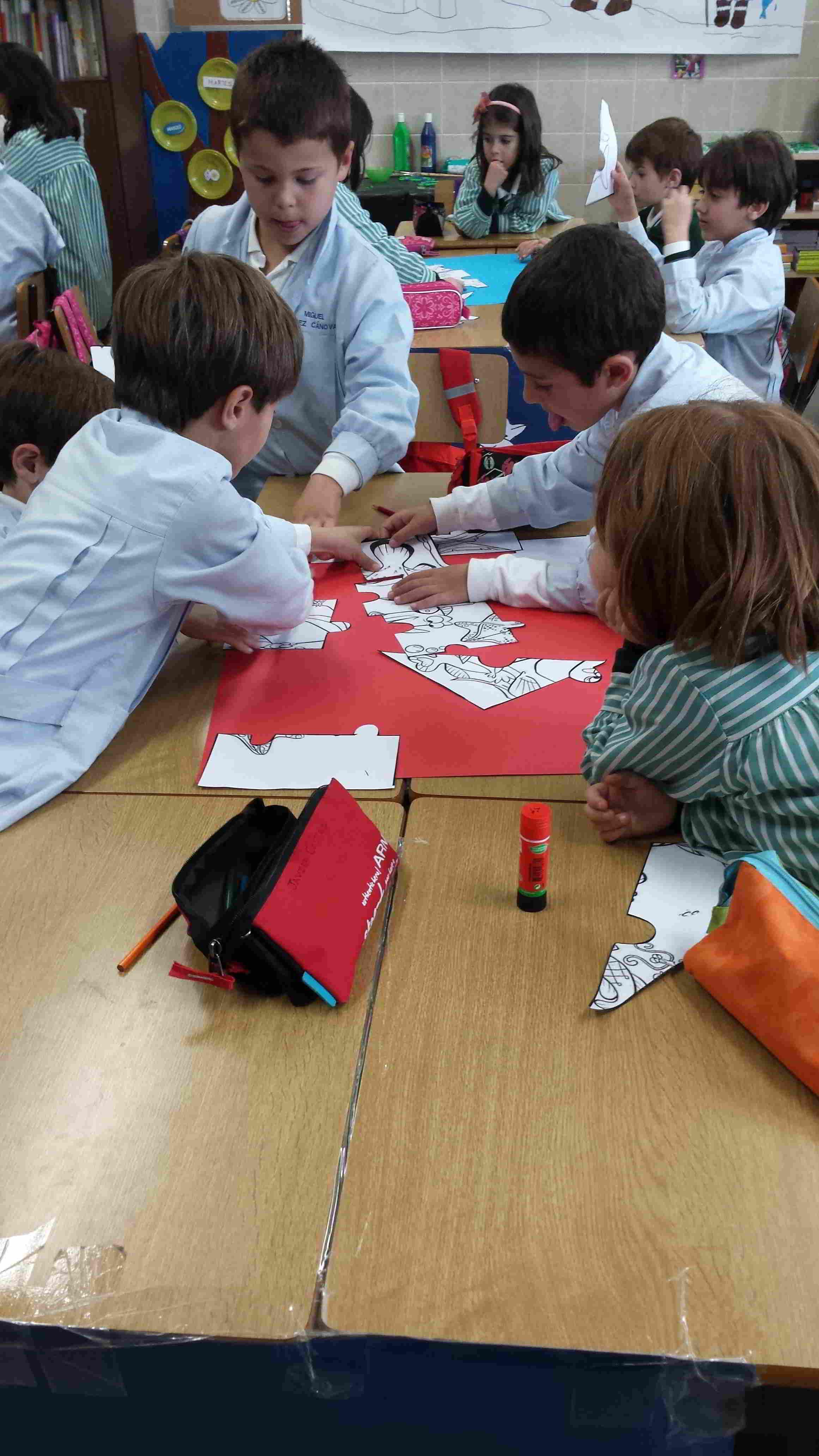 Trabajo cooperativo - Colegio Santa María