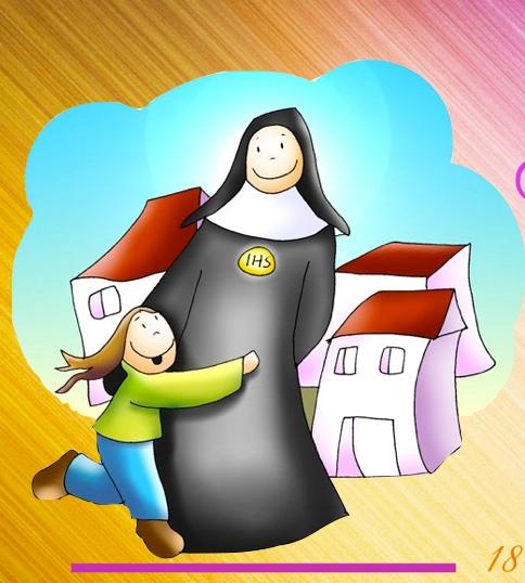 La comunidad educativa felicita a la Madre Cándida (vídeo)