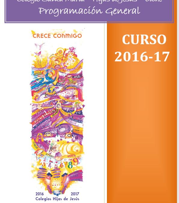 Programación general curso 2016- 2017