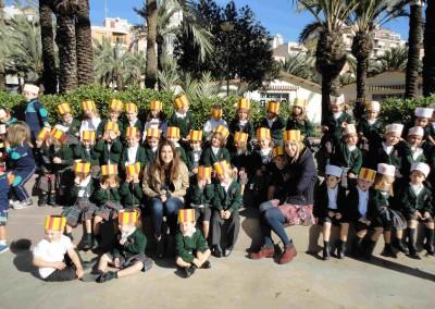 visita canto- colegio santa maria