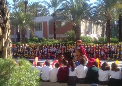 visita Cantó 2015- colegio Santa Maria Elche