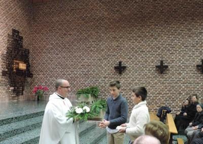 eucaristía inmaculada 2015- Colegio Santa María