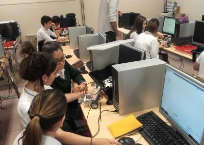 Taller de robótica- Colegio Santa María
