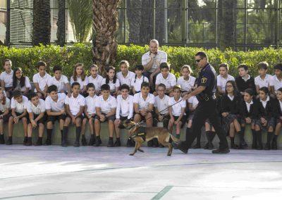 Unidad canina- Colegio Santa María
