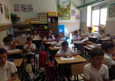 instrumentos de otoño- Colegio Santa María