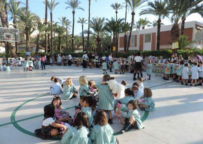 Mercadillo Domund 2016- Colegio Santa María