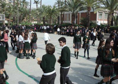 Bocadillo solidario 2017- Colegio Santa María