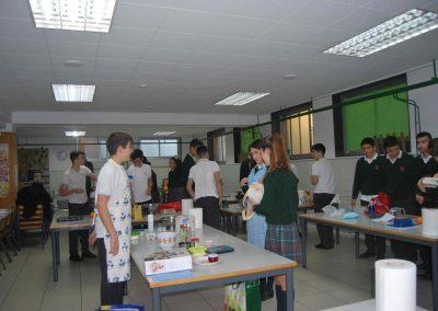 Química en la cocina- Colegio Santa María